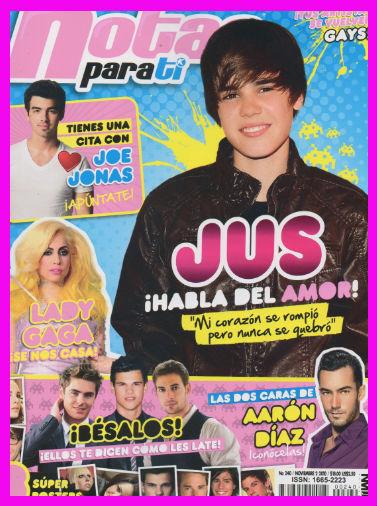 Notas para ti de Justin Bieber