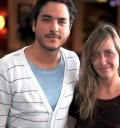 Rodrigo Davila y su novia