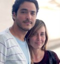 Rodrigo de Motel y su novia