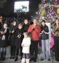 Angelica Rivera y Peña Nieto prenden Arbol de Navidad