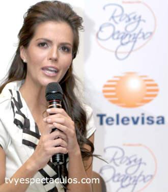 Claudia Alvarez ya en Televisa