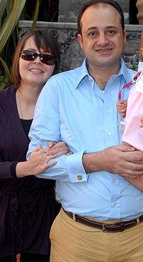 Dany Spanic y Ademar Nahum