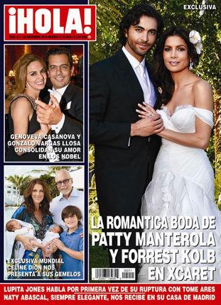 La Boda de Paty Manterola en Revista Hola