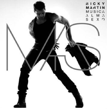 Portada Mas de Ricky Martin
