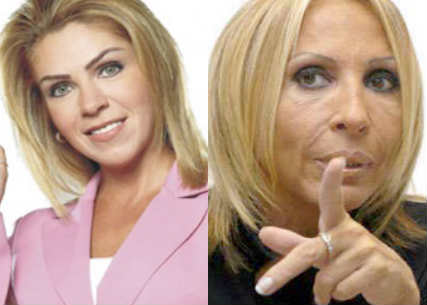 Rocío Sánchez Azuara llama viejita a Laura Bozzo
