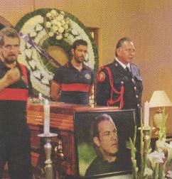Funeral de Cuauhtémoc Blanco en Triunfo del amor