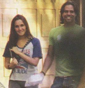 Dulce María sale de paseo con el ex de Ivonne Montero