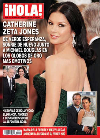 Catherine Zeta Jones en Hola