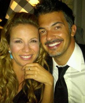 Ingrid Coronado y Fernando del solar se comprometen