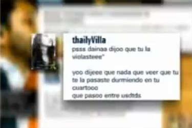 Dan a conocer mensajes de Twitter entre Kalimba y Thaily