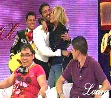 Pablo Montero en el programa de Laura Bozzo