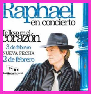 Raphael en Auditorio Nacional
