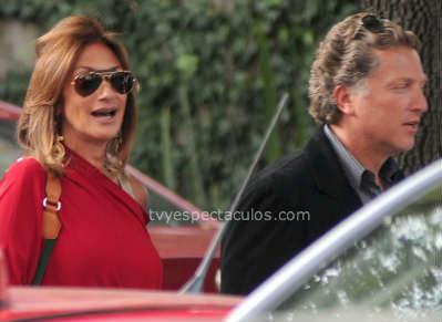 Adela Micha captada con el ex de Ana Bárbara