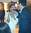 Angelica Vale en su boda