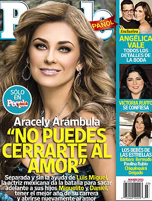Aracely Arámbula en People