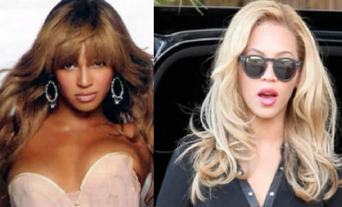 Beyonce se aclara la piel