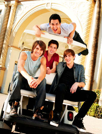 Big Time Rush en los Kids Choice Awards 2011