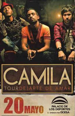 Camila en Palacio de los Deportes 20 de mayo