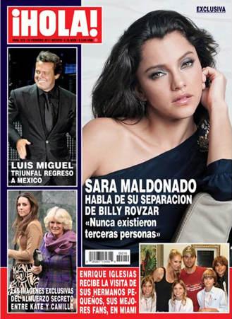 Sara Maldonado habla de su separación en Revista Hola