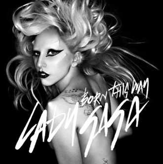 Lady Gaga da a conocer la portada de Born this way
