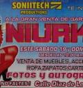 Niurka organiza venta de sus cosas