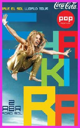 Shakira abre nueva fecha en Foro Sol de la Ciudad de México
