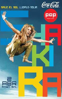 Shakira en Foro Sol 2 de Abril