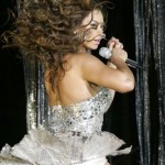 Beyonce muestra su trasero y grandes calzones