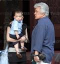 Alberto Vazquez a sus 70 años de pase con su hijo