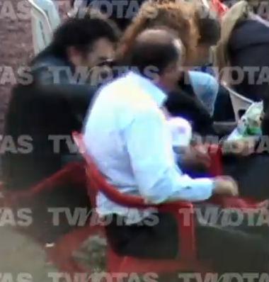 Video de la caída de Lucero y Mijares