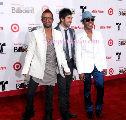 Ganadores de los Premios Billboard 2011