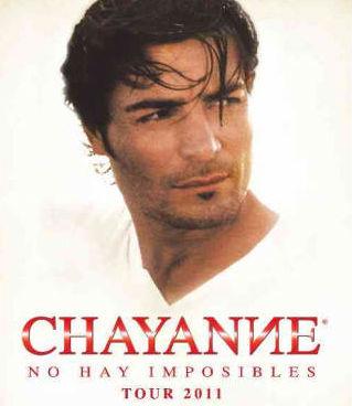 Chayanne 2 de junio en Estadio Andrés Quintana Roo