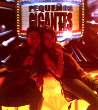 Danna Paola en Pequeños Gigantes