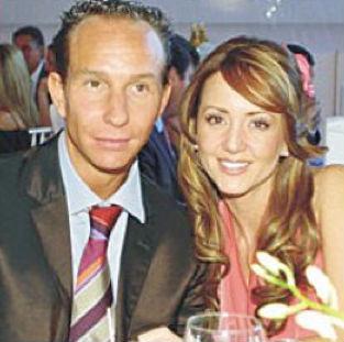 Cumplen 11 años de matrimonio Andrea Legarreta y Erik Rubín