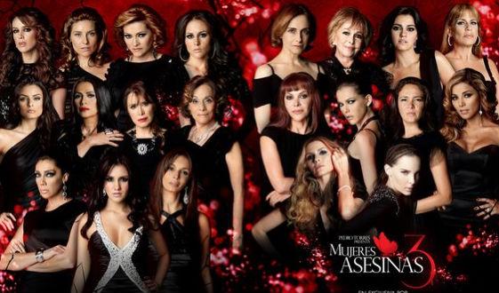5 de mayo transmisión por canal 5 de Mujeres Asesinas 3