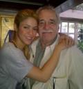 Shakira con Gabriel García Márquez