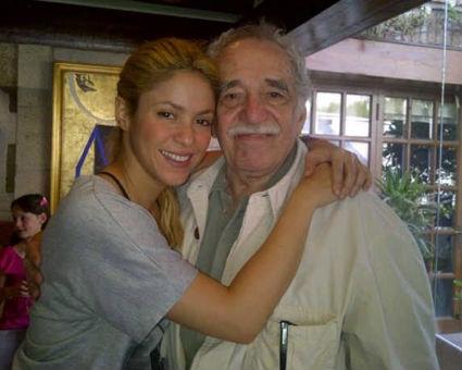 Shakira visitó la Basílica de Guadalupe y a Gabriel García Márquez
