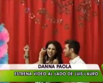 Video Crushin Me muero por ti de Danna Paola y Luis Lauro