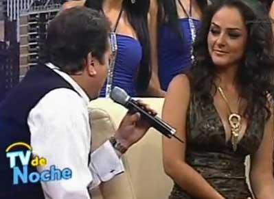 Andrea García se despide de Tv de Noche