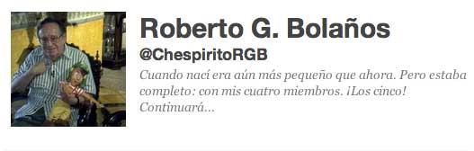 Chespirito dice en Twitter Síganme los buenos