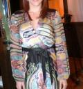 Andrea Noli en alfombra roja de Cielo rojo
