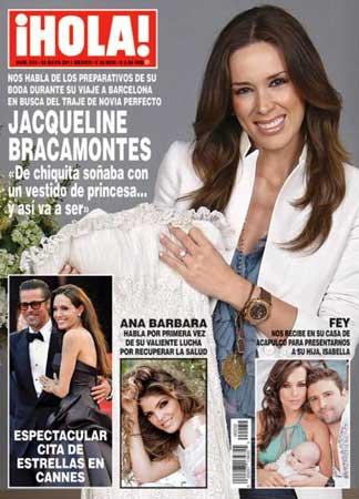 Jacqueline Bracamontes habla de su boda en Hola