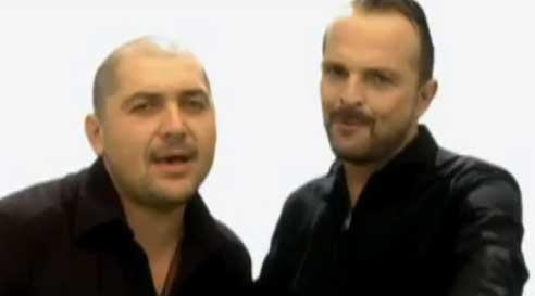 Video Amor del Bueno de Reyli con Miguel Bosé