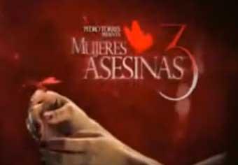 Hoy Elvira y Mercedes Justicieras en Mujeres Asesinas 3