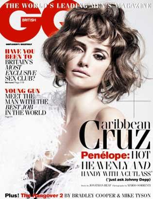 Penélope Cruz en GQ