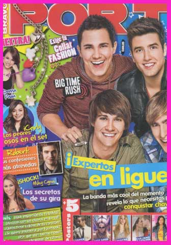 Big Time Rush en Revista Por Ti
