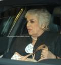 Tina Galindo en funeral de la mamá de Thalía