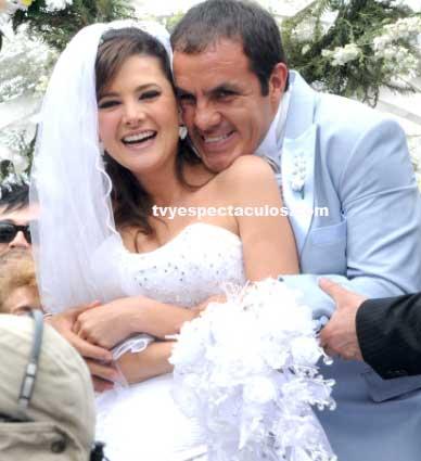 Fotos de la boda de Cuauhtémoc Blanco en Triunfo del amor