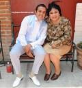 Cuauhtémoc Blanco y Carmen Salinas