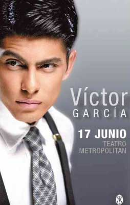 Víctor García en Teatro Metropolitan 17 de junio